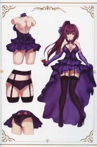 Rating: Questionable Score: 57 Tags: ass cleavage dress fate/grand_order garter_belt heels no_bra pantsu scathach_(fate/grand_order) stockings tagme thighhighs User: kiyoe