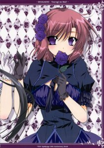 Rating: Safe Score: 18 Tags: cleavage dress lolita_fashion ryuuga_shou tsurugi_no_mai! User: MirrorMagpie