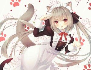 Rating: Safe Score: 31 Tags: animal_ears maid nekomimi tail tokoshibyra User: Mr_GT