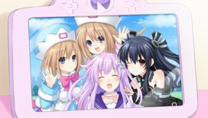 Rating: Safe Score: 28 Tags: choujigen_game_neptune nepgear ram_(choujigen_game_neptune) rom_(choujigen_game_neptune) tsunako uni_(choujigen_game_neptune) User: Nepcoheart