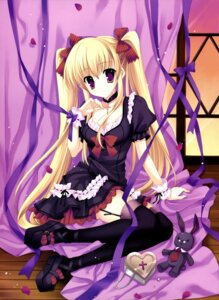 Rating: Safe Score: 56 Tags: lolita_fashion mitha stockings thighhighs User: tcsww12345