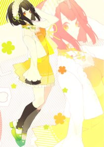 Rating: Safe Score: 29 Tags: akina_(artist) cleavage dress mikagura_gakuen_kumikyoku yasaka_himi User: Radioactive