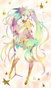 Rating: Safe Score: 13 Tags: alice-mashiro dress hatsune_miku vocaloid User: charunetra
