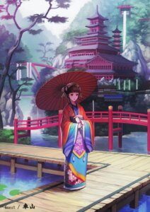 Rating: Safe Score: 39 Tags: fusion_factory kimono kurumayama User: fireattack