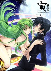 Rating: Safe Score: 37 Tags: bikini c.c. cleavage code_geass cosplay horns lelouch_lamperouge rangetsu swimsuits urusei_yatsura User: yumichi-sama