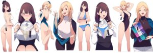 Rating: Questionable Score: 28 Tags: ass bikini cleavage mikoto_akemi sweater swimsuits tagme thong User: Spidey