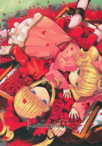Rating: Safe Score: 6 Tags: bloomers hina_ichigo lolita_fashion peach-pit rozen_maiden shinku User: petopeto