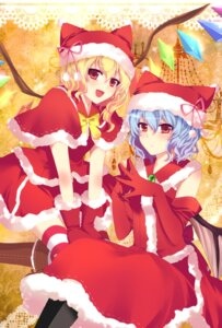 Rating: Safe Score: 38 Tags: christmas flandre_scarlet remilia_scarlet touhou wings yoi User: vanilla