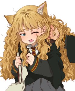 Rating: Safe Score: 14 Tags: animal_ears harry_potter hermione_granger nekomimi ringo78 seifuku User: Radioactive