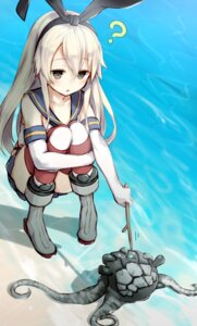 Rating: Safe Score: 58 Tags: kantai_collection kato_roku shimakaze_(kancolle) thighhighs User: Mr_GT