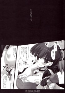Rating: Questionable Score: 6 Tags: 7th_dragon breast_grab d.n.a.lab miyasu_risa monochrome nipples scanning_dust User: MirrorMagpie