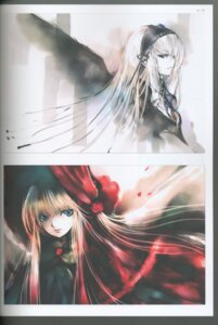Rating: Safe Score: 9 Tags: binding_discoloration kei rozen_maiden shinku suigintou User: charunetra