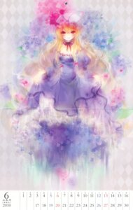 Rating: Safe Score: 13 Tags: calendar crease dress shimeko touhou yakumo_yukari User: blooregardo