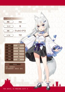 Rating: Questionable Score: 17 Tags: animal_ears cleavage fuumi heels japanese_clothes maou-sama_no_machizukuri!_~saikyou_no_danjon_wa_kindai_toshi~ possible_duplicate tagme tail User: kiyoe