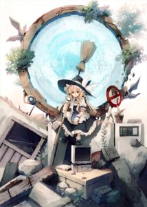 Rating: Safe Score: 37 Tags: eho_(icbm) kirisame_marisa touhou User: fairyren