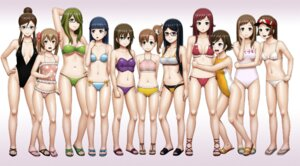Rating: Questionable Score: 30 Tags: bikini chousoku_henkei_gyrozetter cleavage ereka megane swimsuits User: dyj