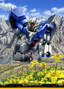 Rating: Safe Score: 18 Tags: 00_gundam gundam gundam_00 imaizumi_ryoichi landscape mecha User: drop