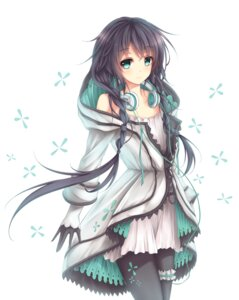 Rating: Safe Score: 104 Tags: dress headphones pantyhose vocaloid wsman xia_xu_yao User: KazukiNanako