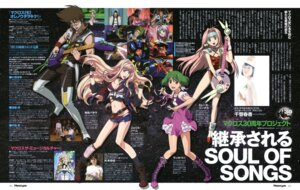 Rating: Safe Score: 13 Tags: cleavage guitar macross macross_7 macross_frontier mylene_flare_jenius ranka_lee sheryl_nome User: vkun