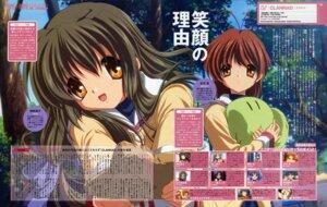 Rating: Safe Score: 4 Tags: clannad furukawa_nagisa ibuki_fuuko ikeda_kazumi seifuku User: 月无名