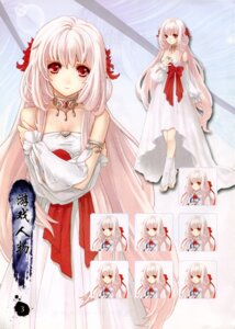 Rating: Safe Score: 9 Tags: 5r_studio bleed_through character_design dress expression loulan xiaolei User: xixicomic