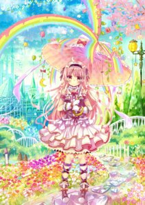 Rating: Safe Score: 32 Tags: dress lolita_fashion sakura_oriko umbrella User: Mr_GT