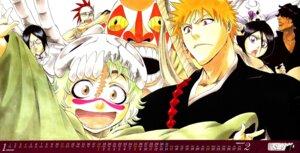 Rating: Safe Score: 11 Tags: abarai_renji bleach calendar kubo_tite kuchiki_rukia kurosaki_ichigo neliel_tu_oderschvank uryuu_ishida watercolor yasutora_sado User: blooregardo