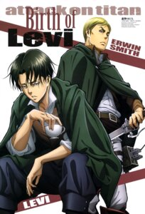Rating: Questionable Score: 10 Tags: erwin_smith levi male shingeki_no_kyojin sugidomari_tomoko uniform User: drop