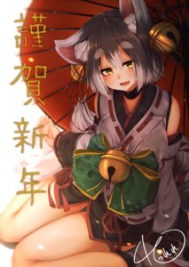 Rating: Safe Score: 14 Tags: animal_ears japanese_clothes tail umbrella waterdog User: Mr_GT