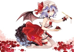 Rating: Safe Score: 24 Tags: musou_yuchi remilia_scarlet stockings thighhighs touhou wings User: tbchyu001