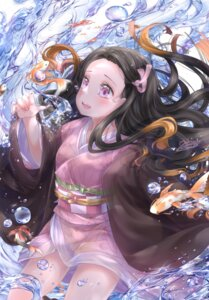 Rating: Safe Score: 20 Tags: japanese_clothes kamado_nezuko kimetsu_no_yaiba skirt_lift tagme wet User: BattlequeenYume