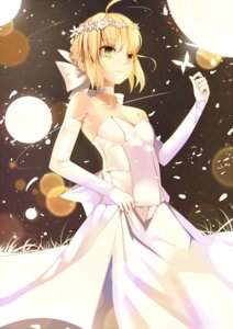 Rating: Safe Score: 68 Tags: chun_bi cleavage dress fate/stay_night no_bra saber User: charunetra