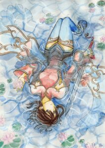 Rating: Safe Score: 14 Tags: chai_xianghua soul_calibur soul_calibur_iv sword tagme thighhighs weapon wet wet_clothes User: Radioactive