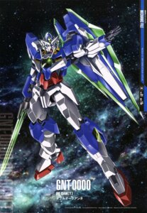 Rating: Safe Score: 16 Tags: 00_qan[t] gundam gundam_00 gundam_00:_a_wakening_of_the_trailblazer mecha nakatani_seiichi User: Radioactive