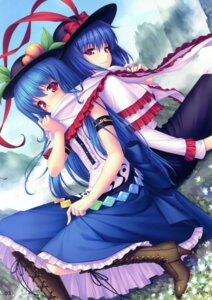 Rating: Safe Score: 53 Tags: hinanawi_tenshi nagae_iku neko_works sayori touhou User: Aurelia