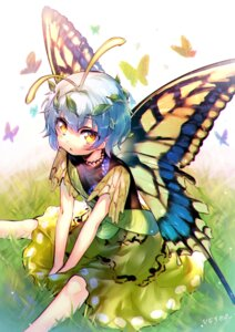 Rating: Safe Score: 31 Tags: dress etarnity_larva hinasumire touhou wings User: Mr_GT