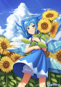Rating: Safe Score: 14 Tags: bloomers cirno goback skirt_lift touhou wings User: Dreista
