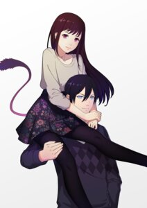 Rating: Safe Score: 42 Tags: iki_hiyori noragami pantyhose tail thank_star yato User: charunetra
