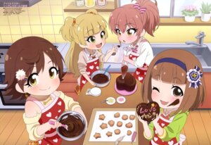 Rating: Safe Score: 20 Tags: cream honda_mio jougasaki_mika jougasaki_rika kitami_yuzu seifuku sweater takatsu_tomoko the_idolm@ster the_idolm@ster_cinderella_girls valentine User: drop