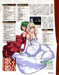 Rating: Safe Score: 8 Tags: 8bit dress macross macross_frontier ranka_lee sheryl_nome User: Aurelia