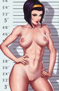 Rating: Explicit Score: 61 Tags: cowboy_bebop dandon_fuga faye_valentine naked nipples pussy tan_lines uncensored User: kamikazemonk