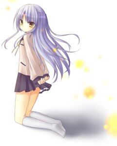 Rating: Safe Score: 19 Tags: amene_kurumi angel_beats! seifuku tenshi User: charunetra