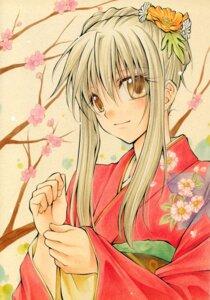 Rating: Safe Score: 9 Tags: eita_mizuno kimono spiral yuizaki_hiyono User: Radioactive