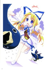Rating: Safe Score: 16 Tags: akata_itsuki bloomers disgaea flonne penguin prinny User: blooregardo