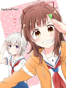 Rating: Safe Score: 14 Tags: high_school_fleet irizaki_mei seifuku tateishi_shima yasaka_shuu User: saemonnokami