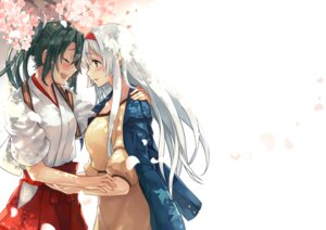Rating: Safe Score: 28 Tags: dress kantai_collection shoukaku_(kancolle) tendou_itsuki zuikaku_(kancolle) User: Mr_GT