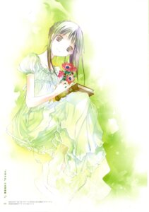 Rating: Safe Score: 10 Tags: amano_tooko bungaku_shoujo dress summer_dress takeoka_miho User: Radioactive