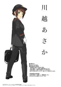 Rating: Safe Score: 14 Tags: kawagoe_asaka mibu_natsuki tetsudou_musume uniform User: Kaixa