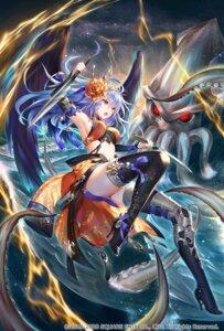 Rating: Safe Score: 20 Tags: armor bikini_armor heels monster nemusuke romancing_saga_re;universe skirt_lift sword tentacles thighhighs wings User: Mr_GT