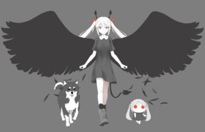 Rating: Safe Score: 12 Tags: chibi dress tagme tail transparent_png wings User: Radioactive